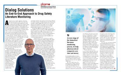 Dialog Solutions – Top 10 Pharmacovigilance Solution Provider